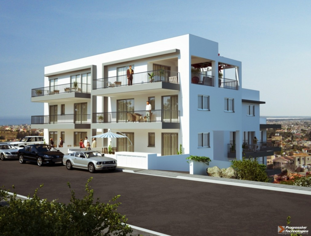 3d exterior design showcase for Exterior design of flats