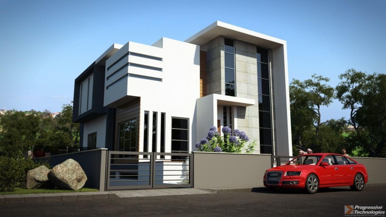 3d exterior design showcase for Architecture exterior design